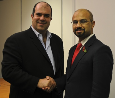 Sir Stelios and Dr Mohammad Al-Ubaydli